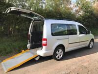 2012 Volkswagen Caddy Maxi Life 1.6 TDI 5dr DSG AUTOMATIC WHEELCHAIR ACCESSIB...