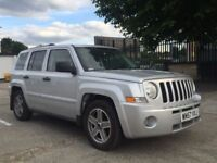 Jeep Patriot limited 2.0 leather sunroof 4x4