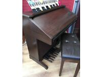 Technics sx-GN6 Electric Organ for Sale in Excellent Condition with Stool and Music Books