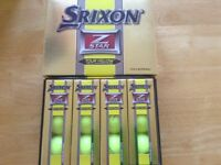 Brand new srixon z star tour yellow golf balls.