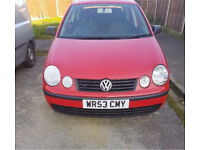 VW Volkswagen Polo 1.2 53 Plate 5dr