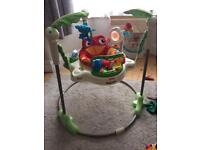 Fisher Price baby Jumperoo bouncer