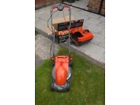 flymo lawn mower as new in good condition