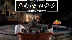 4 X FRIENDSFEST Tickets LONDON Sat 16/09/17