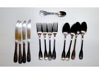 Cutlery Knives / knife, forks desert spoons ea spoon set