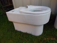 Toilet base unit (Close couple) never used.
