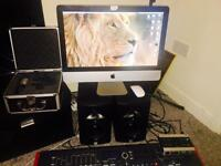 "21"" iMac, 1TB Hdd, 16Gb Ram.. Music Studio Bundle"