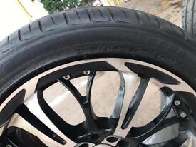 4alloy wheels & tyres 215/45/17