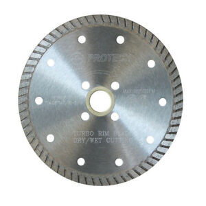 Fine Turbo Dry Cut Blades - Protech Diamond Tools Inc.