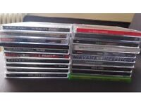 Assortment of Music CDs