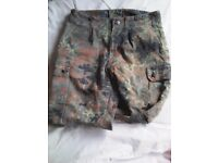Army surplus combat trousers