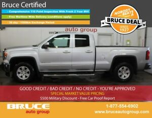 2014 GMC Sierra 1500 SLE 5.3L 8 CYL AUTOMATIC 4X4 EXTENDED CAB R