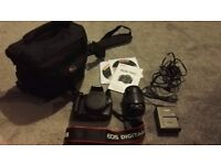 Canon EOS 1100D camera, with everything in the pictures included