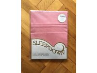 BN dusky pink single fitted sheet