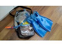 Blue Tusa Reef Snorkelling Set