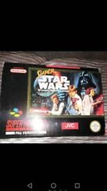 Super star wars super Nintendo