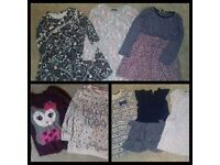 Bundle of Girls Clothes 5-6 Years - Dresses, Tops etc.
