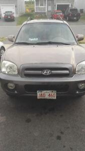Lovely 2006 Hyundai Santa Fe 2.7 v6 SUV,PRICE REDUCED ONLY $3200