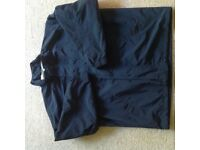 Mens navy casual lightweight jacket, large from M & S
