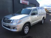 * SOLD * 2013 Toyota Hilux 2.5 D4-D HL2 Single Cab 4x4 Diesel Utility Pickup