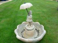 Garden ornamental water feature fountain with pump
