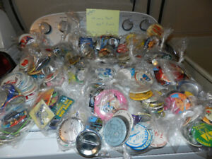 lots of Collector Buttons