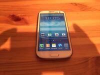 SAMSUNG GALAXY S3 - 16GB STORAGE - ON EE/ORANGE/T MOBILE