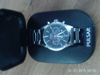 pulsur mens watch NEW £45 ONO