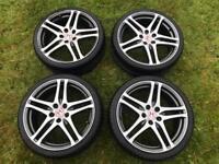Honda civic type r 19'' rage alloy wheels