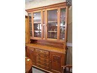 Arts & Crafts Oak Carved Dresser