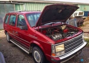 89 Turbo Plymouth Voyager