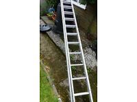 Aluminium Ladder 3.9m Double