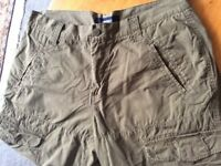 Original Kenvelo Men's 3/4 Length Trousers, Shorts, Sixe XL