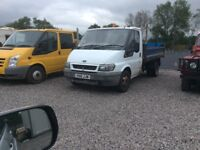 Ford transit single cab tipper MOT till 2018 starts and drives great