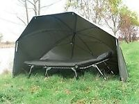 Diawa mission storm brolly + overwrap
