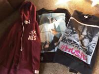 Men's Hoodie & 2 Sweat Shirts Like New