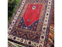 Turkish prayer rug 113 x 170 cm