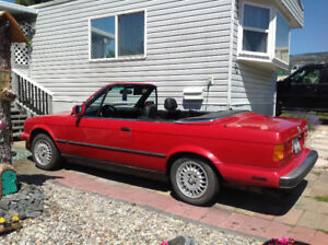 Classic-1987 BMW 325i- convertible