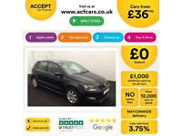 Volkswagen Polo Match Edition FROM £36 PER WEEK!
