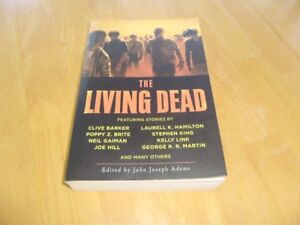 THE LIVING DEAD LARGE OVER SIZED SOFT COVER ZOMBIE BOOK