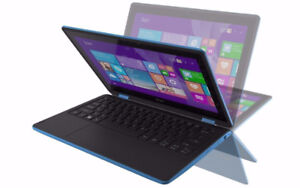 ACER Touch Screen 2-in-1 Convertible Laptop, Intel , Office Pro