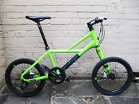 cannondale hooligan 9 speed not bad boy fluro green
