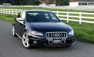 Looking for a 2010 or newer Audi S4 Sedan