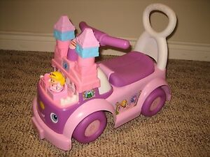 Fisher Price Little People Royal Coach Ride-on