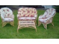 3 peice conservatory furniture