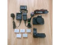 Canon 600D body with extras