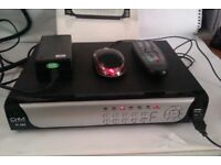 CCTV DVR 4CH with 500GB Hard Drive Used but good condition fully working