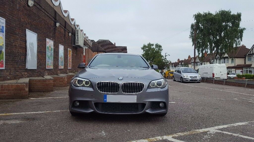 bmw 5 series f10 2011 520d msport auto not 525d 530d space grey fsh in castle bromwich west. Black Bedroom Furniture Sets. Home Design Ideas