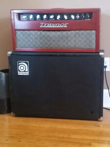 1969 Traynor yvm-1 voicemaster Ampeg vt-22 cab