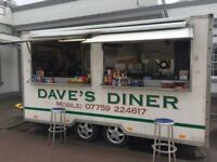 manned catering trailer hire somerset